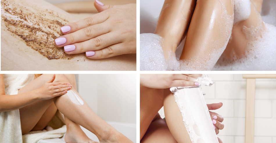 cream shaving